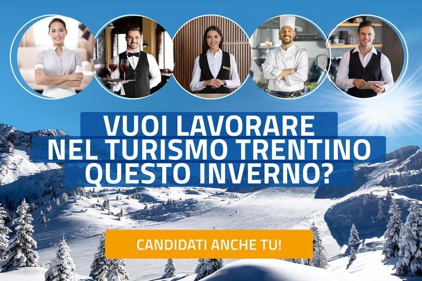 Lavorare nel settore turistico quest'inverno: al via la raccolta delle candidature