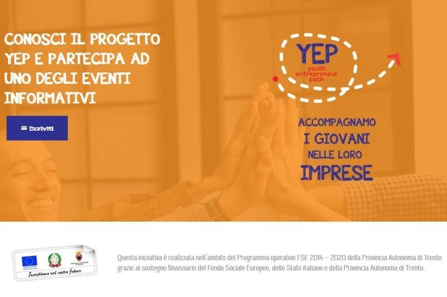 YEP: accompagnamo i giovani nelle loro imprese