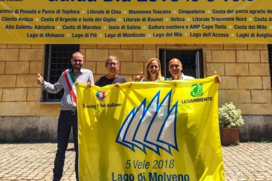 Molveno vince il premio come miglior lago d'Italia in assoluto per il quinto anno consecutivo