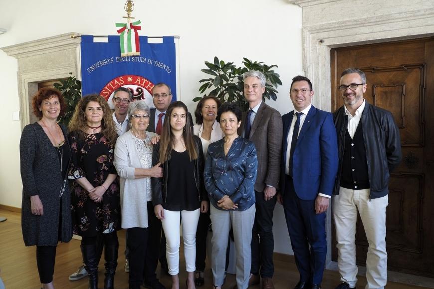 Asat e Cape: in ricordo di Luca Libardi una donazione per la ricerca medica dell'Università di Trento e del CIBIO