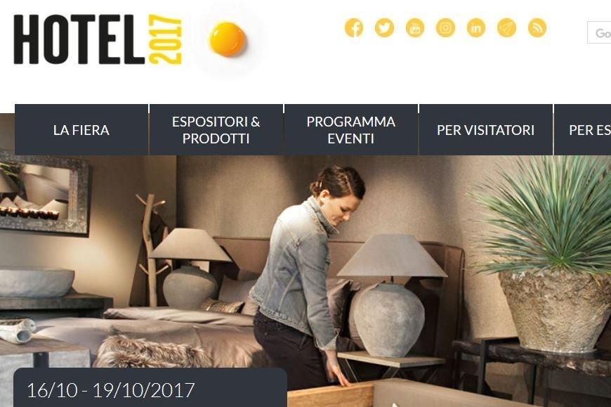 Hotel 2017 - Fiera Bolzano dal 16 al 19 ottobre 2017