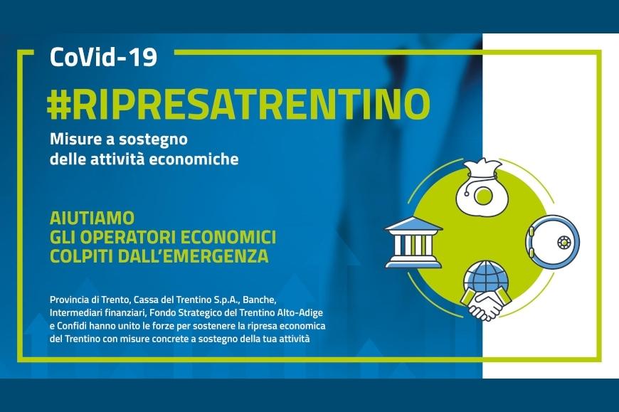 #RIPRESATRENTINO: sospensione e rinegoziazione del mutuo, finanziamenti agevolati