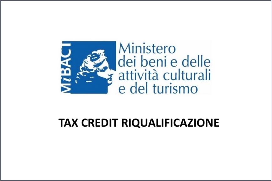 Tax Credit riqualificazione: pubblicazione nuova graduatoria