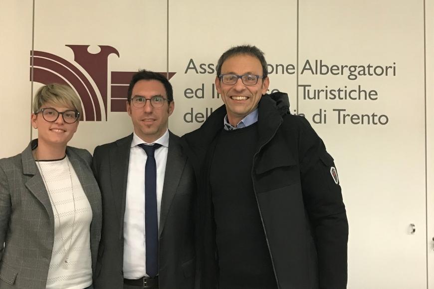 La Giunta Asat incontra gli assessori Zanotelli e Failoni