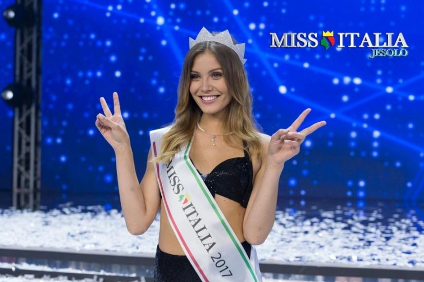 Alice Rachele Arlanch, giovane studentessa di Anghebeni (Vallarsa) è Miss Italia 2017.