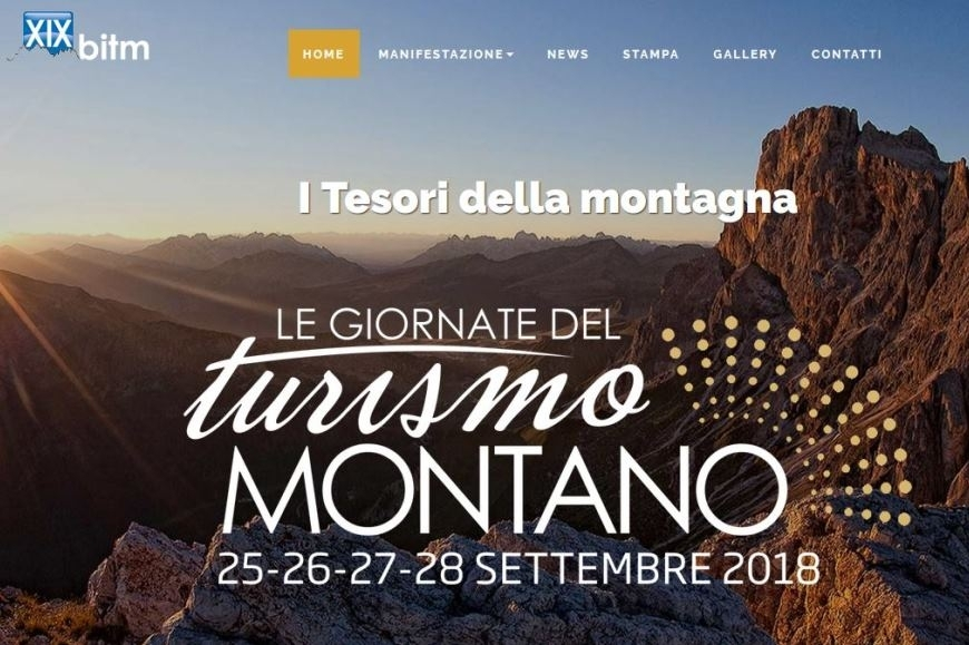XIX BITM: le giornate del turismo montano (25/28 settembre 2018)