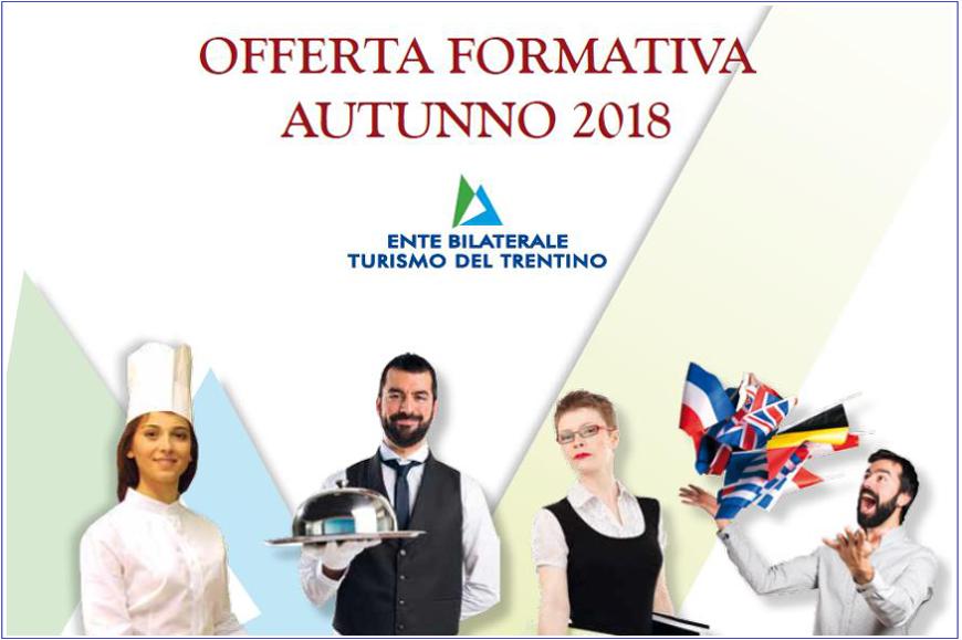 EBTT: offerta formativa autunno 2018